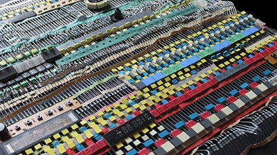 Electronic Tapestry - components