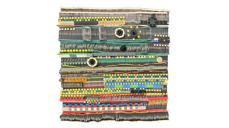 Electronic Tapestry –Retired objects