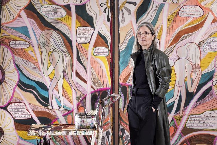 Emma Talbot, Max Mara Prize, portrait by Thierry Bal
