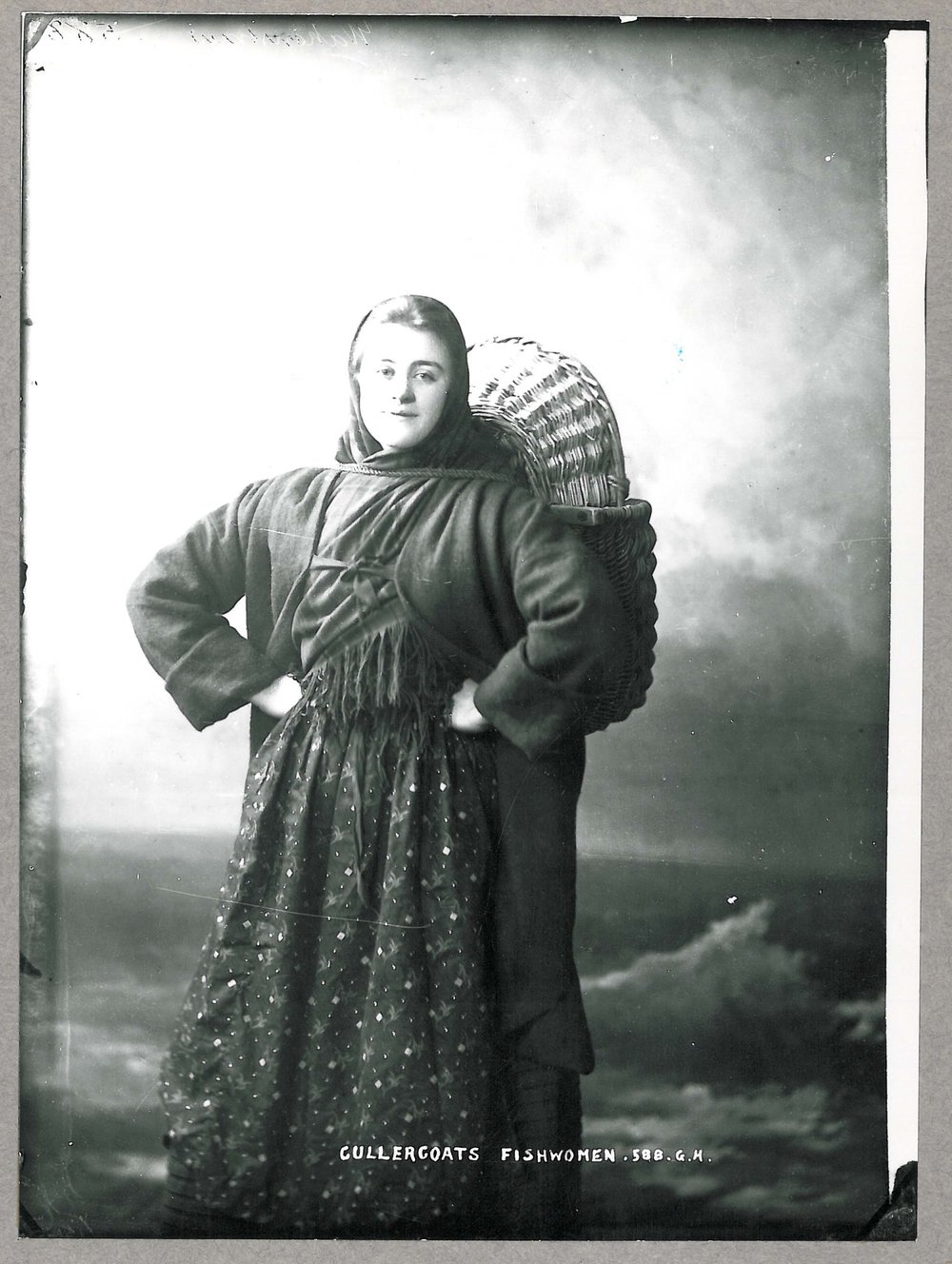 Ester Wakenshaw, Cullercoat Fishwife, 1896, 027637, © Newcastle Libraries