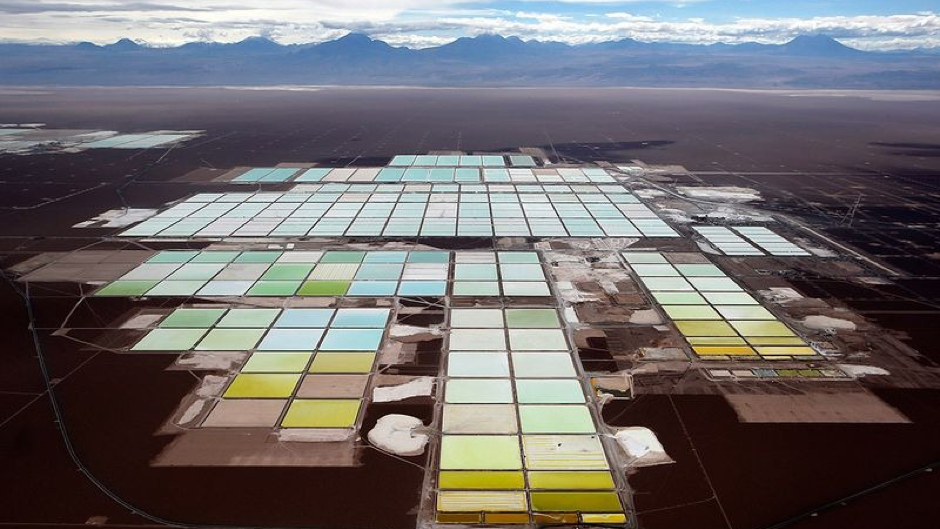 Evaporation ponds, Salar de Atacama, Chile (Ivan Alvarado-Reuters)