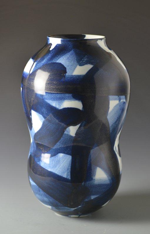 Blue and White Vase, 2013