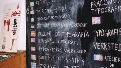 International Typography in Visual Communication