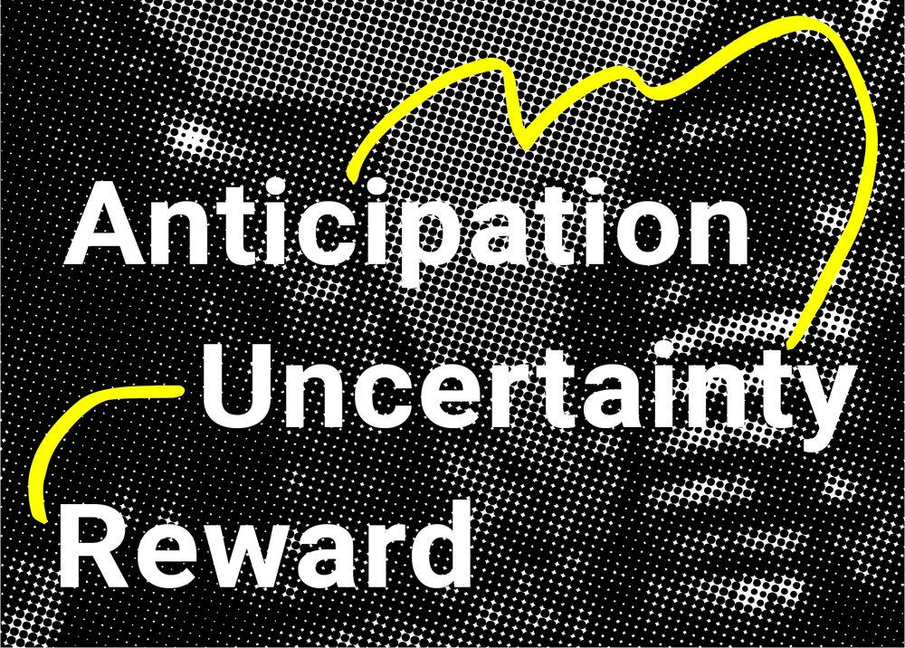 Anticipation, Uncertainty, Reward