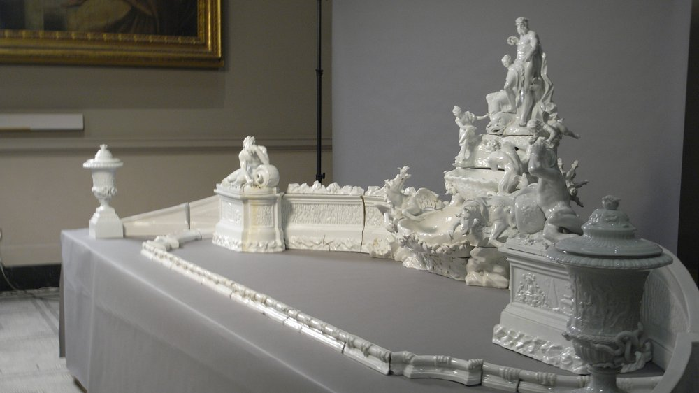 The Meissen table fountain reconstructed for the first time in 150 years