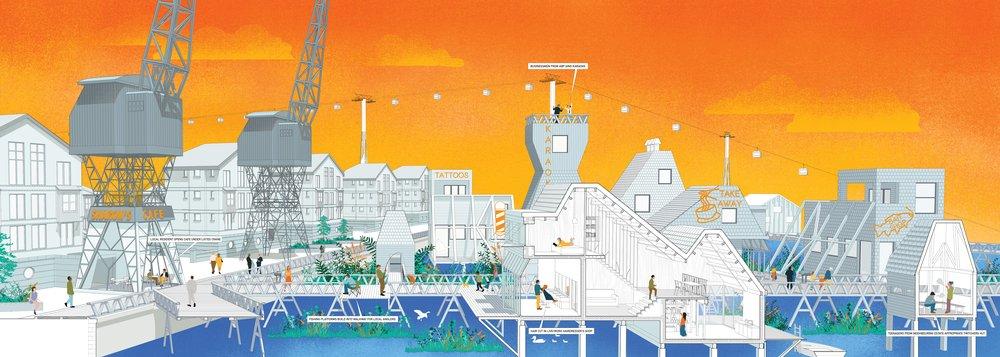 Live/Work Wetlands, The Royal Docks