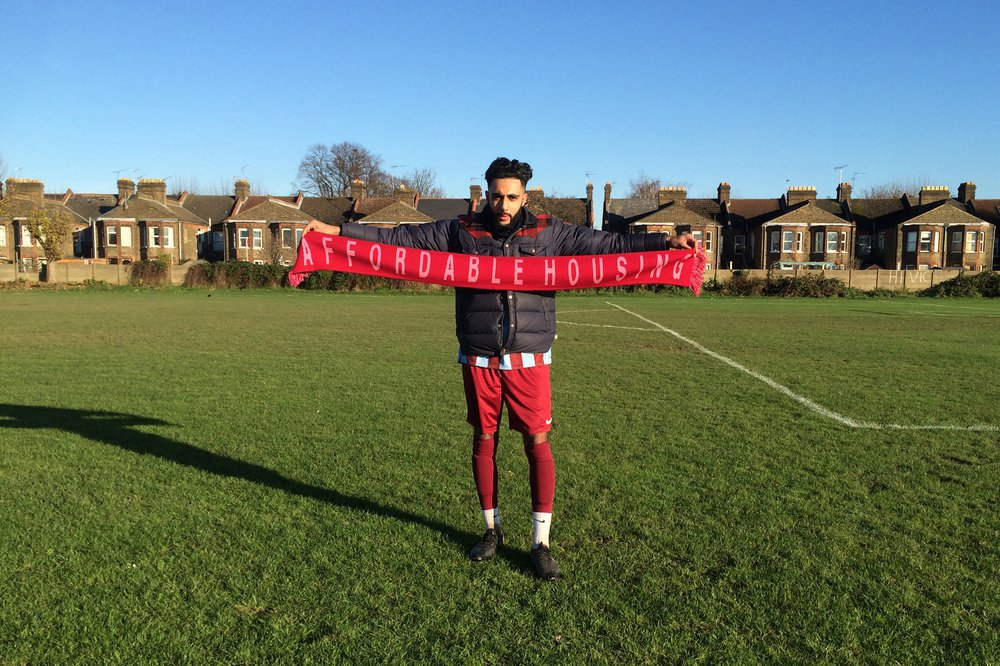 Football Scarves for Supporters of Political Ideas