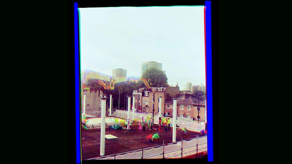 Battersea campus – concrete pouring