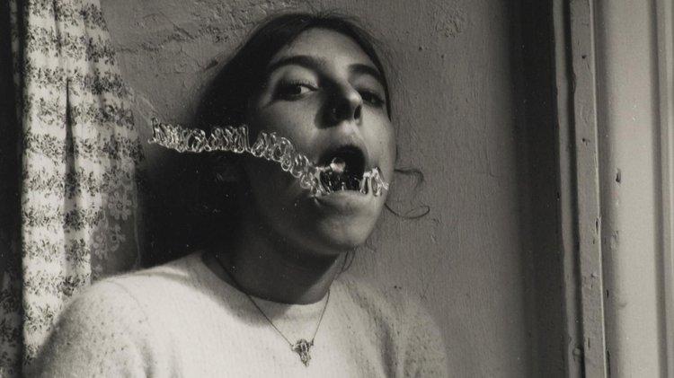 Self-portrait talking to Vince, Providence, Rhode Island, 1975–1978, Francesca Woodman