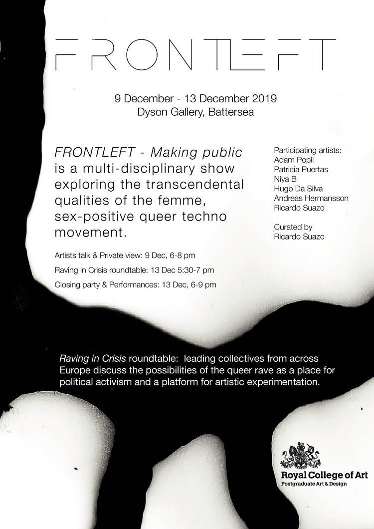 FRONTLEFT Poster