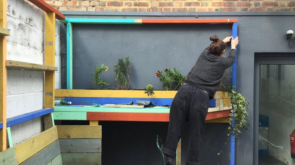 Courtyard Garden, Battersea