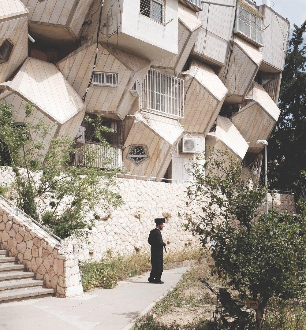 Ramot Polin by Zvi Hecker, Jerusalem.