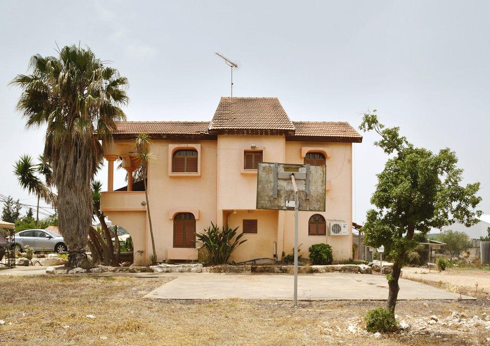 A house in Shetula, on the Israeli-Lebanese Border.