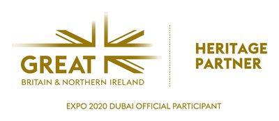 GREAT UK Pavilion Heritage Partner logo