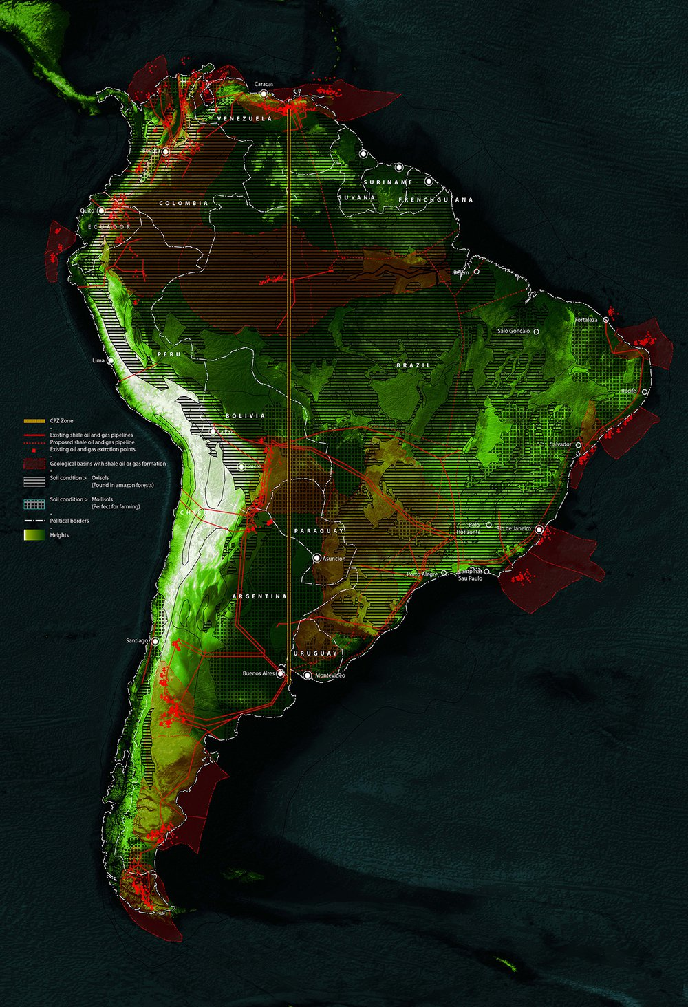 Great South American Pipeline: A Commons Protection Zone (w/ Samaneh Moafi), 2014