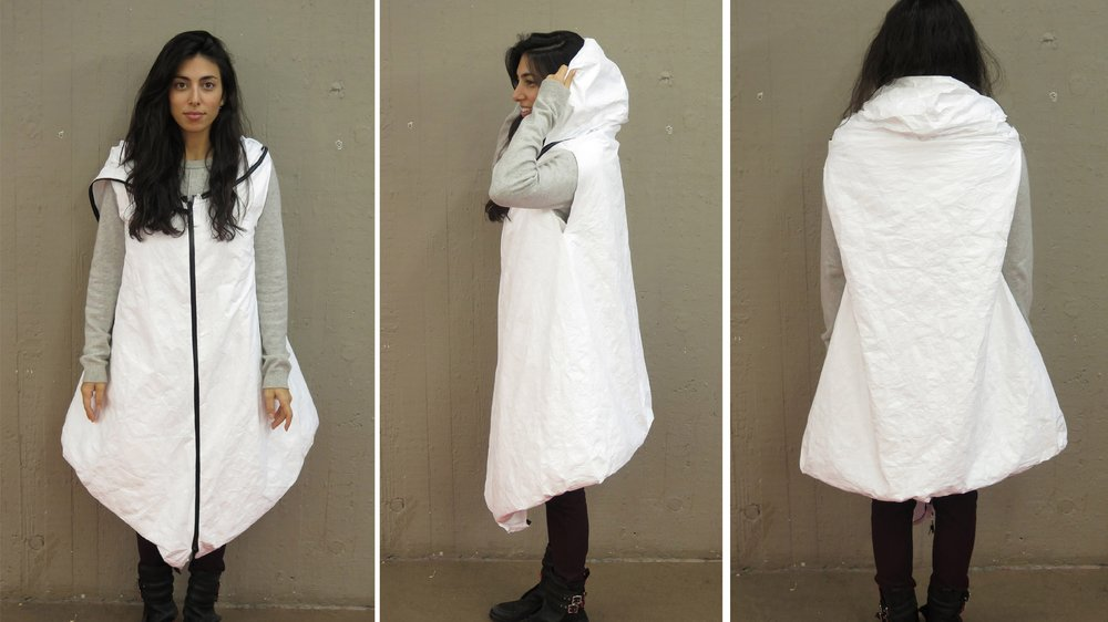Refugee Wearable Shelter