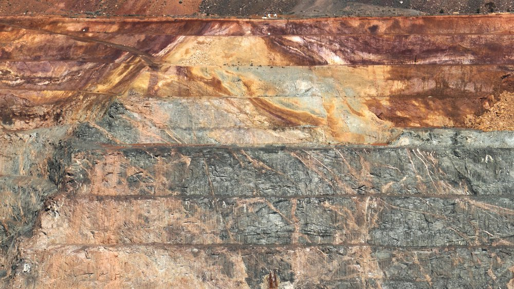 Geological Layers Exposed