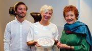 Lady Helen Hamlyn with Helen Hamlyn Alumni Award Winners