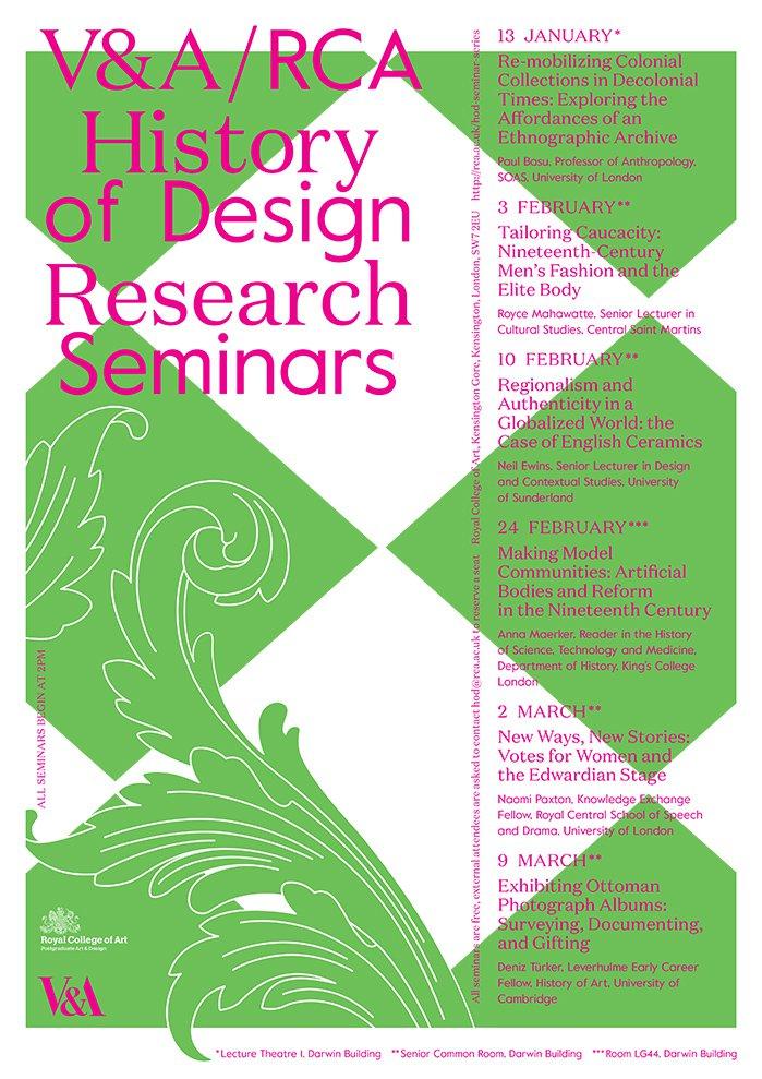 History of Design Research Seminar Series 2020