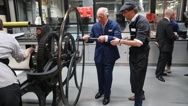 HRH the Prince of Wales at the RCA