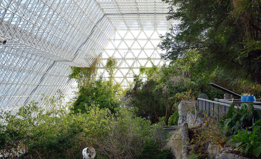 Biosphere 2, University of Arizona. Photo: Hbarrison, 2015