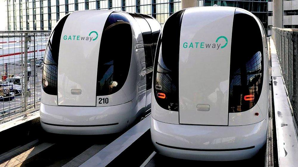 GATEway new driverless pods 2016