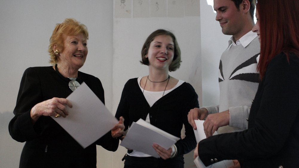 Helen Hamlyn with Awards winners