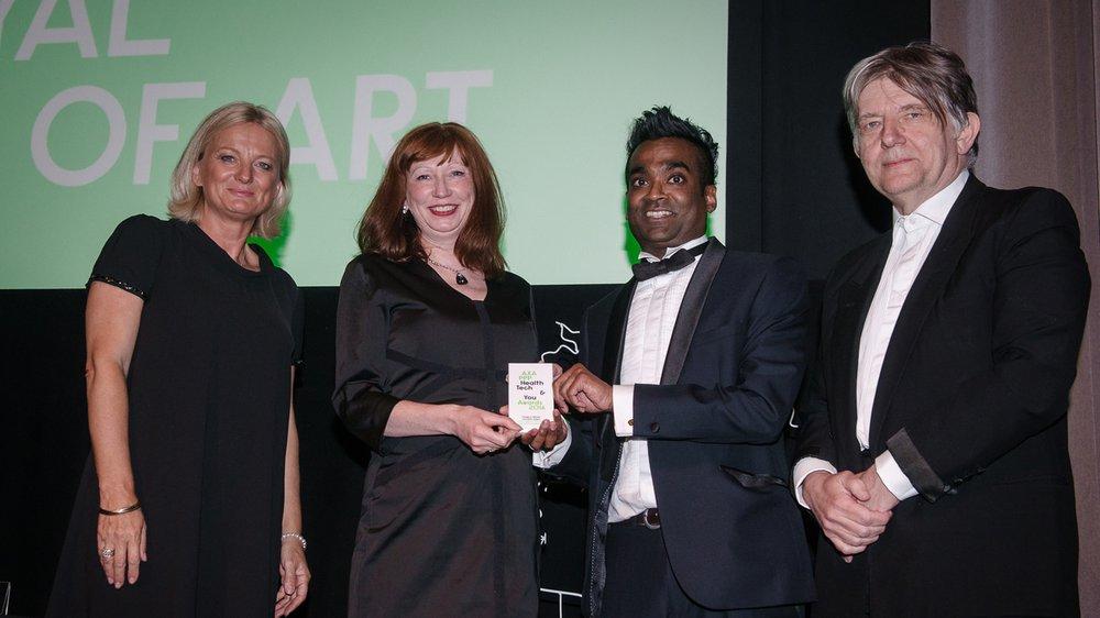 Helen Hamlyn Centre for Design Wins Innovator Award at AXA PPP Health Tech & You Awards