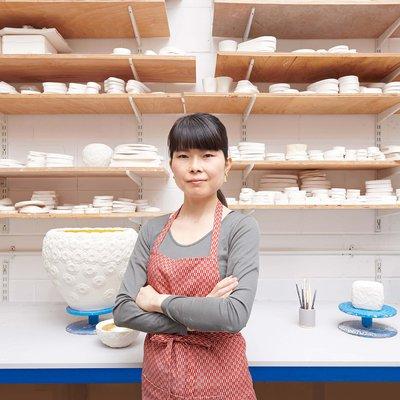 Photographic portrait of Hitomi Hosono