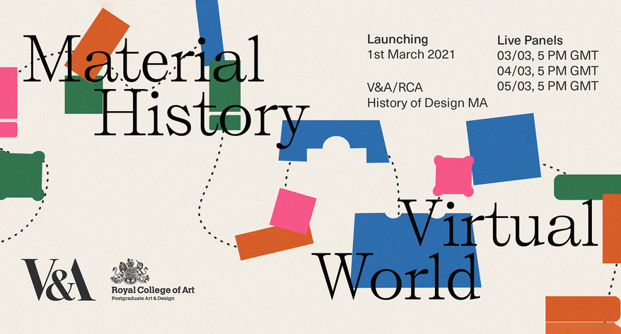 Material History/Virtual World Poster