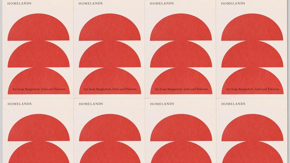 Homelands publication, designed by APFEL for Kettle's Yard