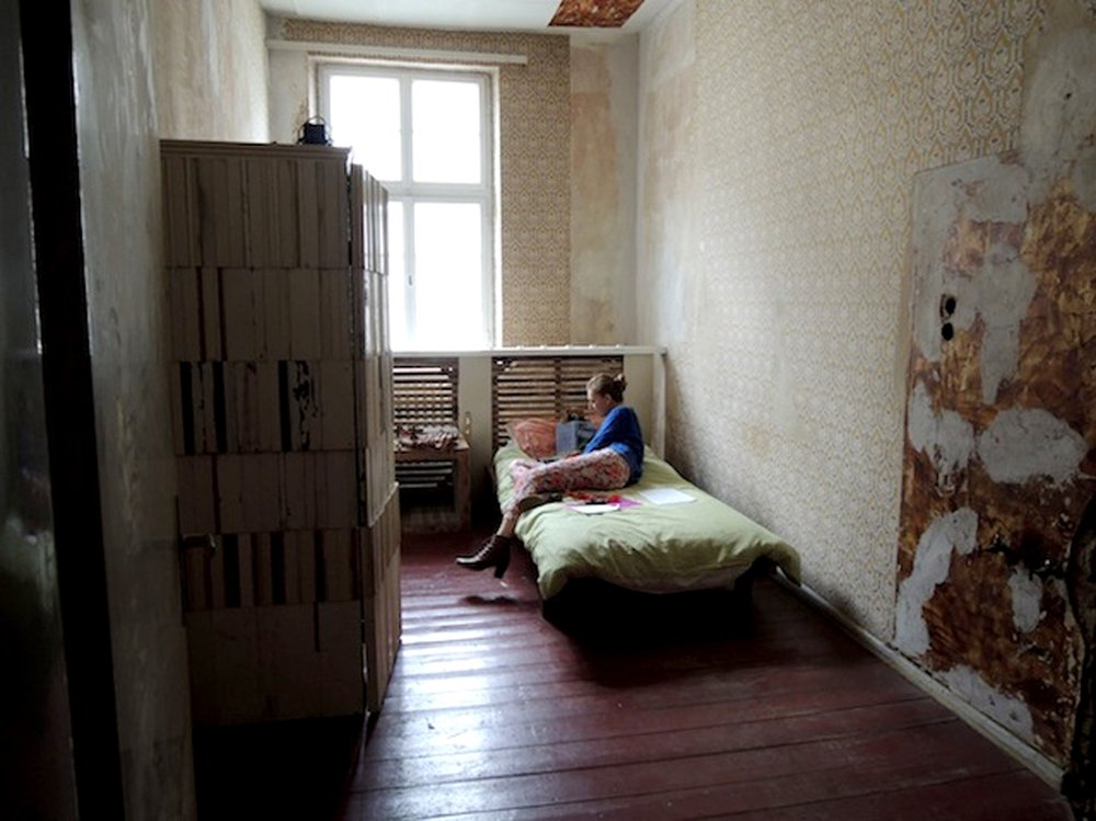 """Living and working in Theaster Gates's """"12 Ballads for Huguenot House"""", dOCUMENTA (13), Kassel (2012)"""
