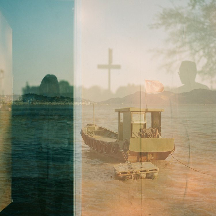 the Voyage, 2019 Photograph printing on transparent acrylic or Normal C-type print with Frames By Hui Lin (MA Photography, 2021)
