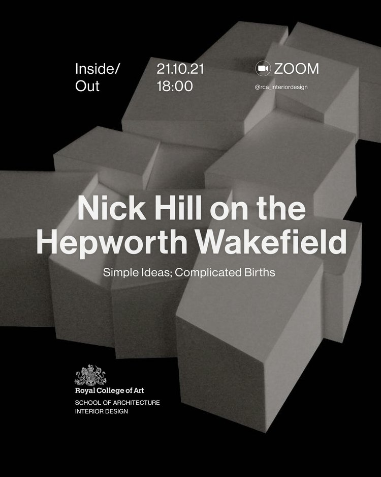Inside/Out: Nick Hill on the Hepworth Wakefield poster