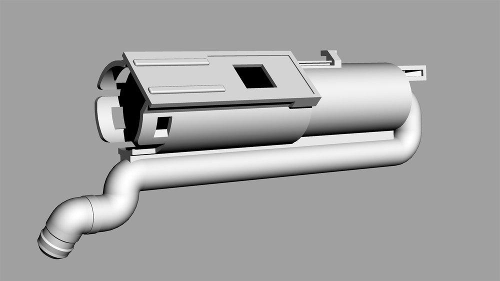 CAD Prototype Pump Part