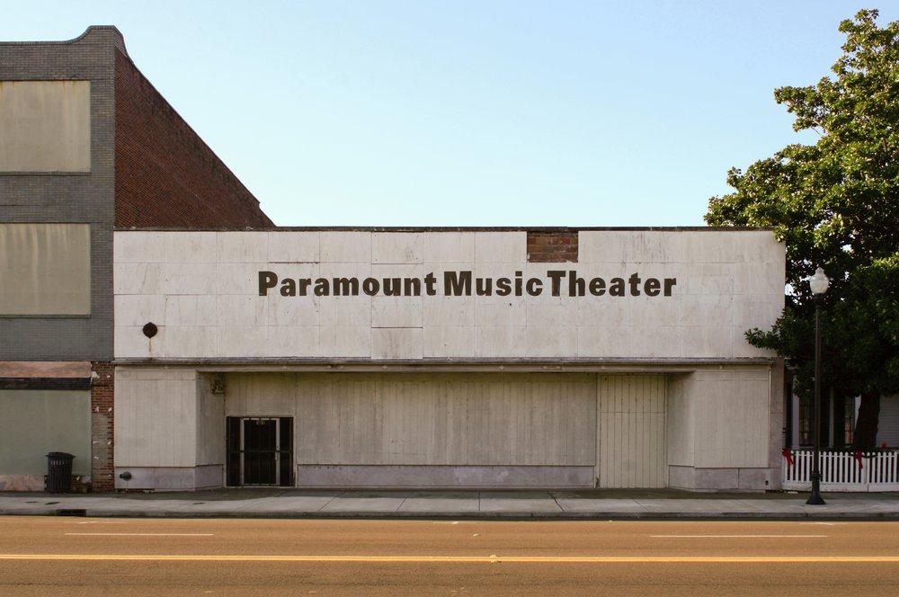 Paramount Music Theater, Alexander Street, Greenville, Mississippi, December 2009