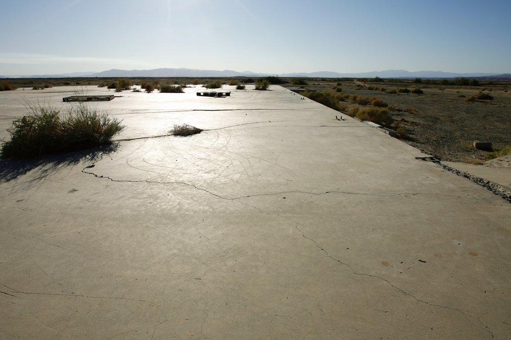 Salton City Airport, Salton City, California, November 2010