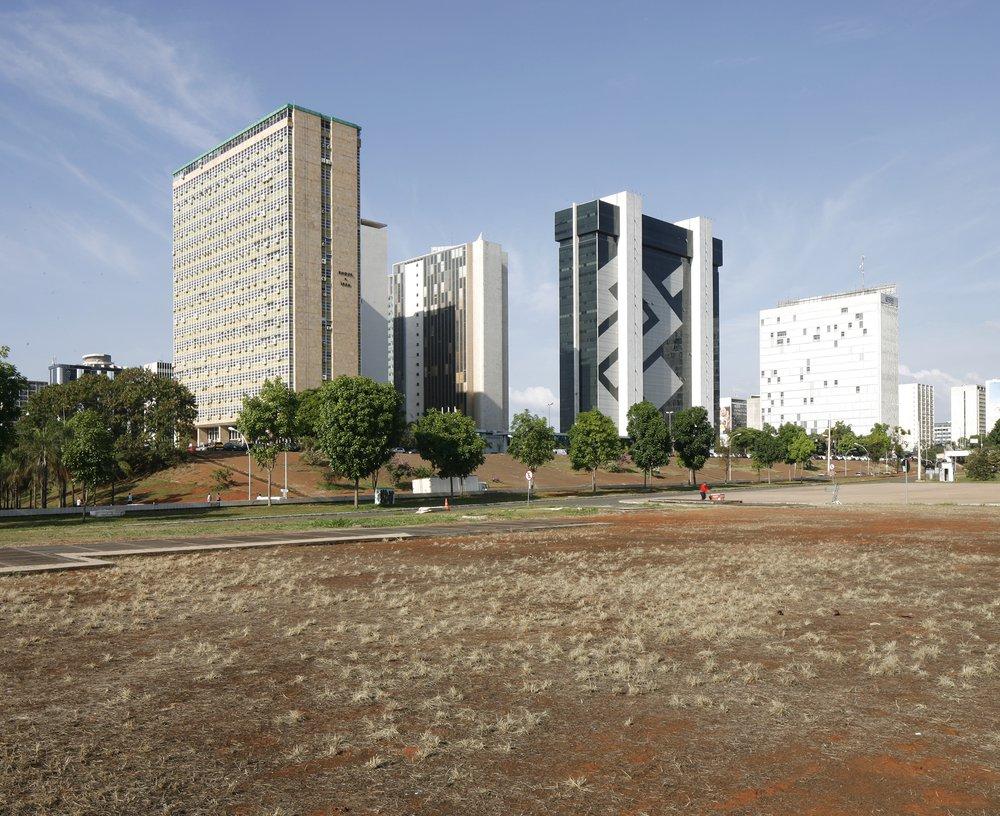 Financial District, Brasilia, December 2015