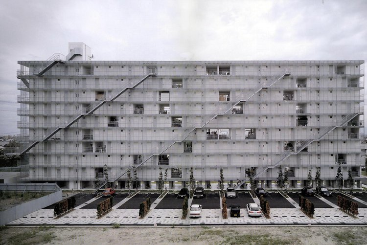 Kazuyo Sejima, Kitagata Apartment Building, Gifu, Japan, 1998