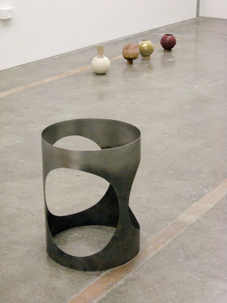 5x hole and Untitled (Balls)