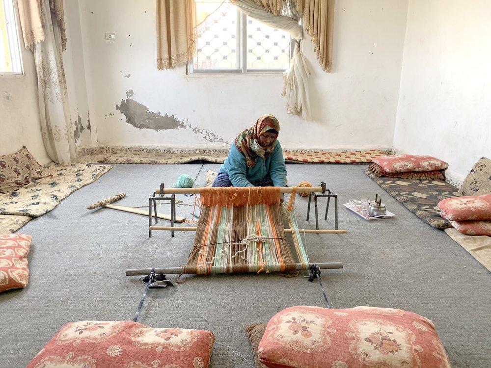 Modernised Sadu Weaving