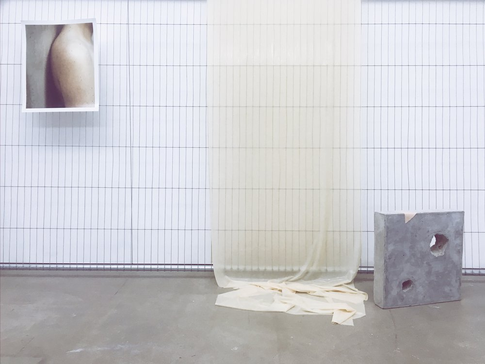 Body Recasts (installation view)