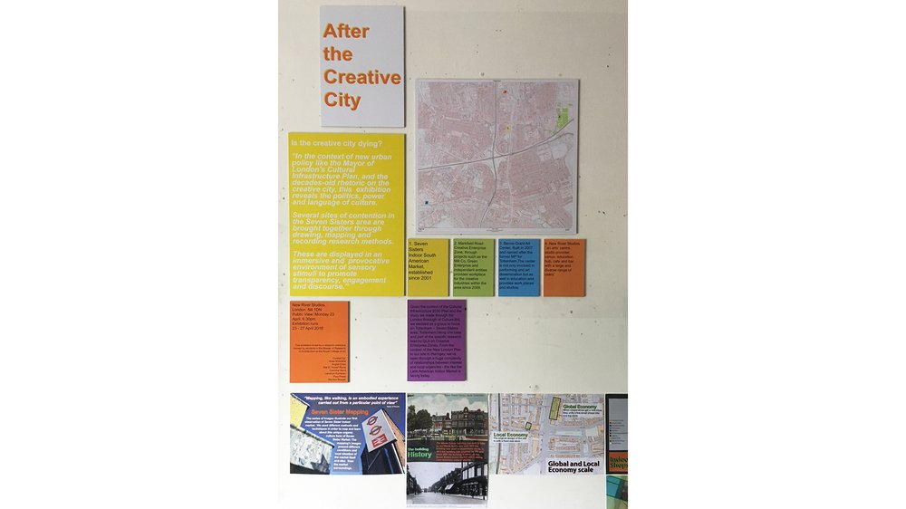 After the Creative City - MRes RCA Architecture Pathway exhibition