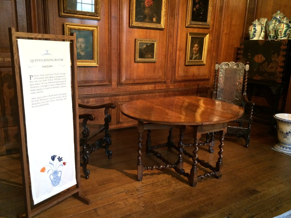 Designs for the Queen's State Apartments at Kensington Palace