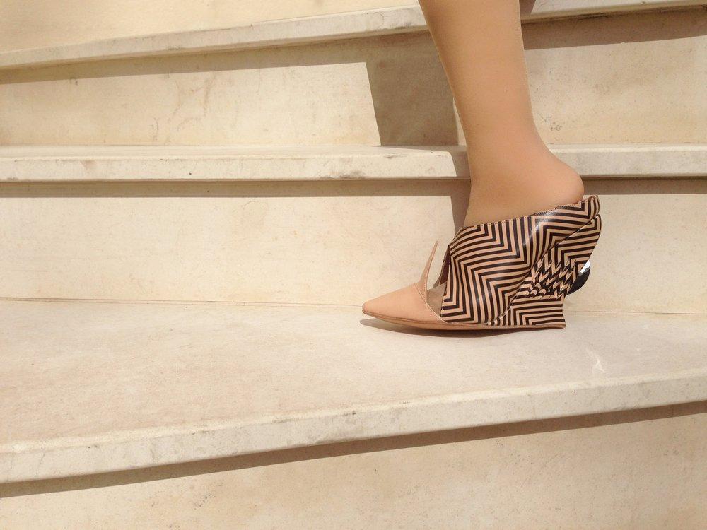 Mirrored Heel