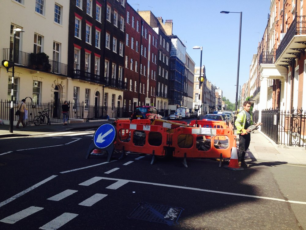 Informal Design - London road surfacing