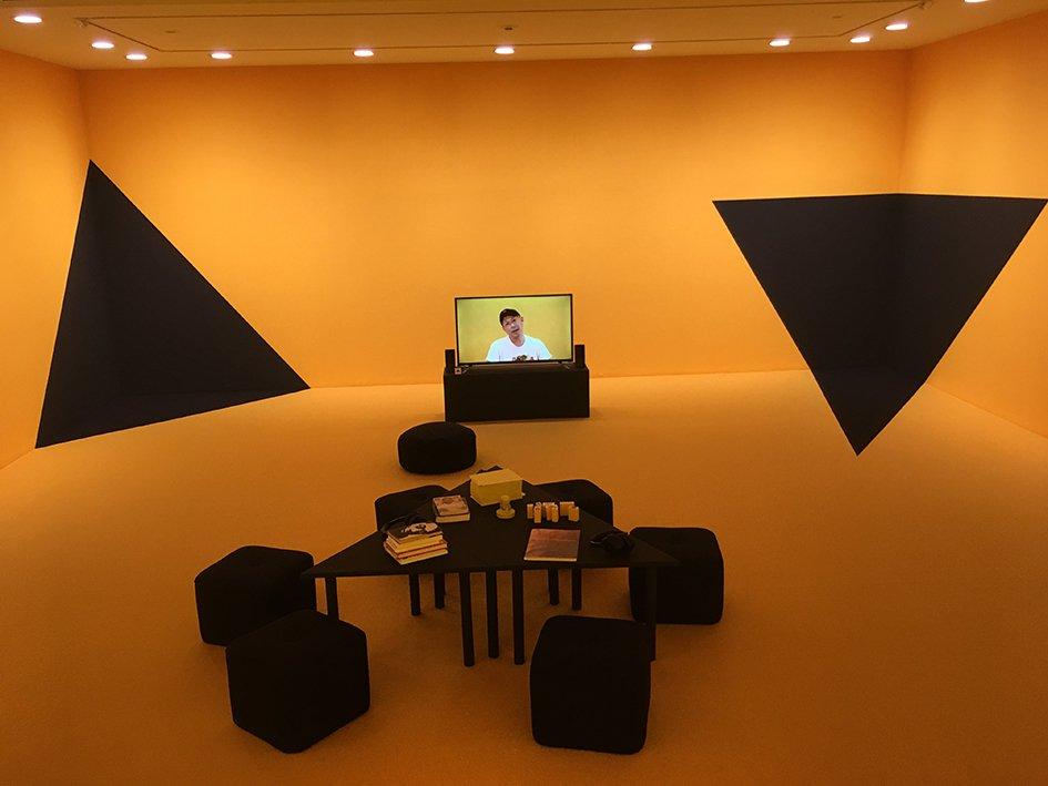 Stranger in The Village, Video Installation. Art Tower Mito, Japan, 2019