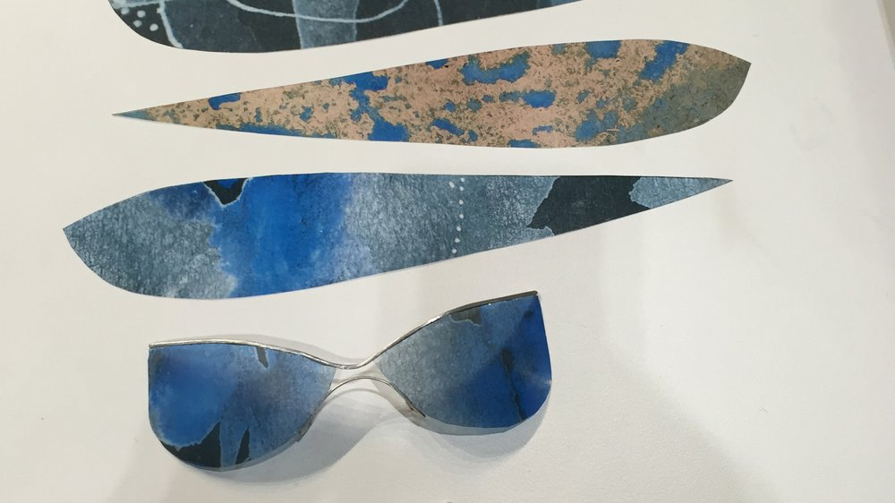 Mirka Janeckova, shortlisted designs for 100% Optical Eyewear Competition
