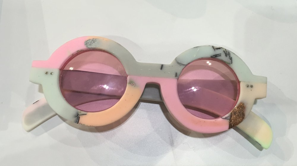 Jen Cheema, winning design for 100% Optical Eyewear Competition