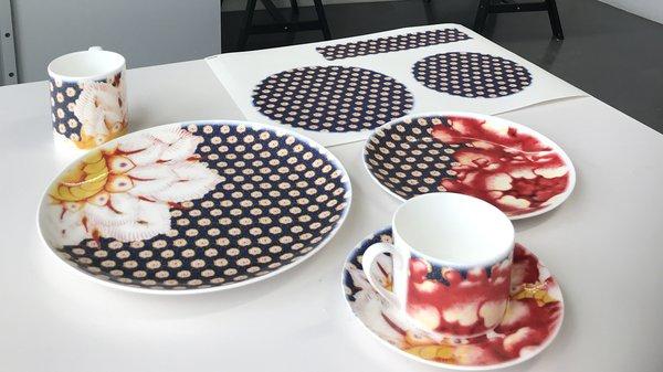 Tableware for Waddesdon Manor